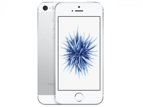 iPhone SE 64GB SIM�t���[ [�V���o�[]